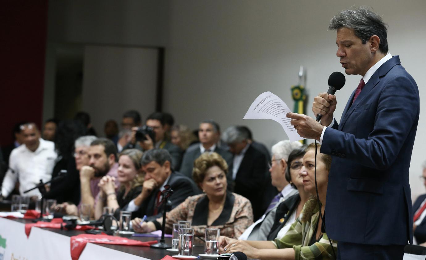 A carta de Lula ao Seminário pela Soberania: Governo de traidores
