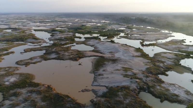 Veneno do Ouro: Águas contaminadas com mercúrio no Peru acabam no Brasil