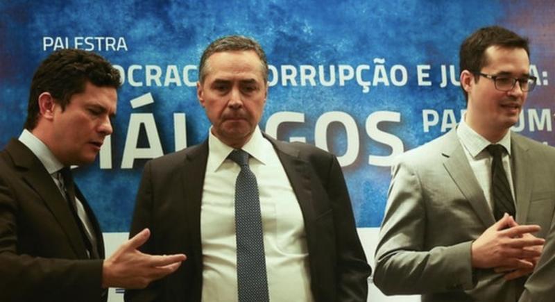 Moro e Deltan esperneiam. Parecem estar em viés de baixa. Vão disparar a bala de prata em Bolsonaro?