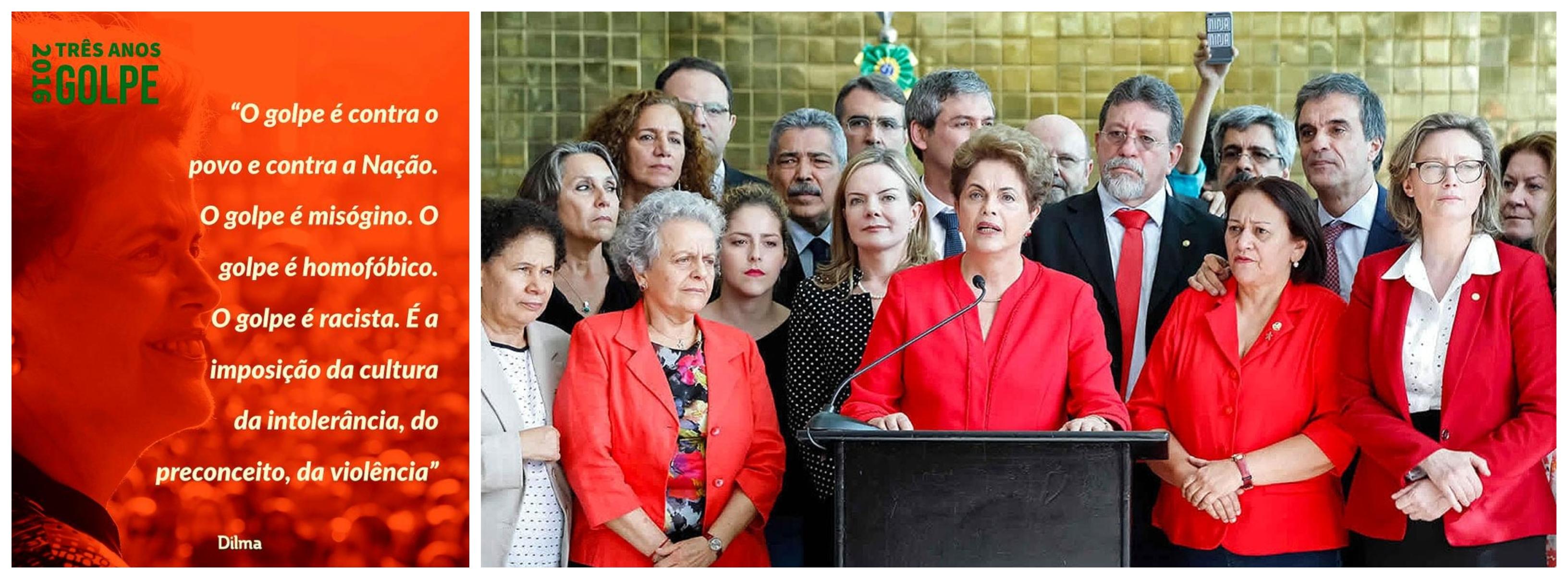 Dilma: A história será implacável com os golpistas; o golpe é contra o povo e a Nação