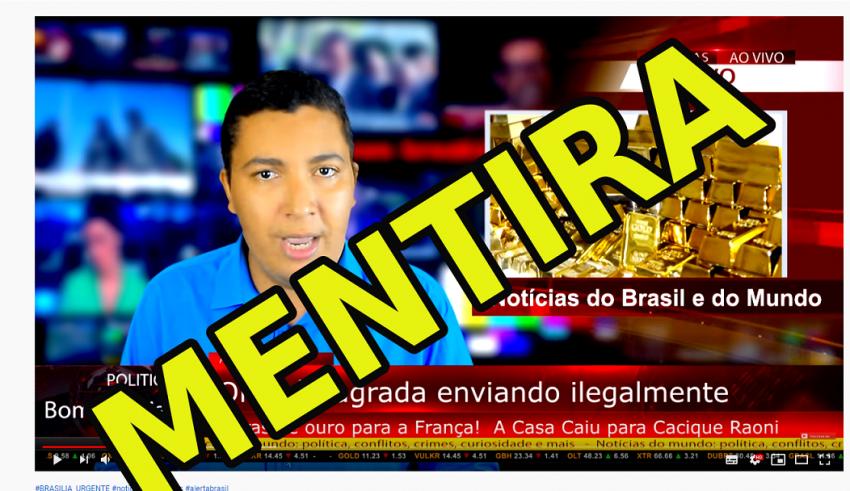 Pimenta denuncia farsa contra cacique Raoni:  YouTube tem de banir canal; criadores terão de se explicar à PF e à CPI; vídeo mentiroso