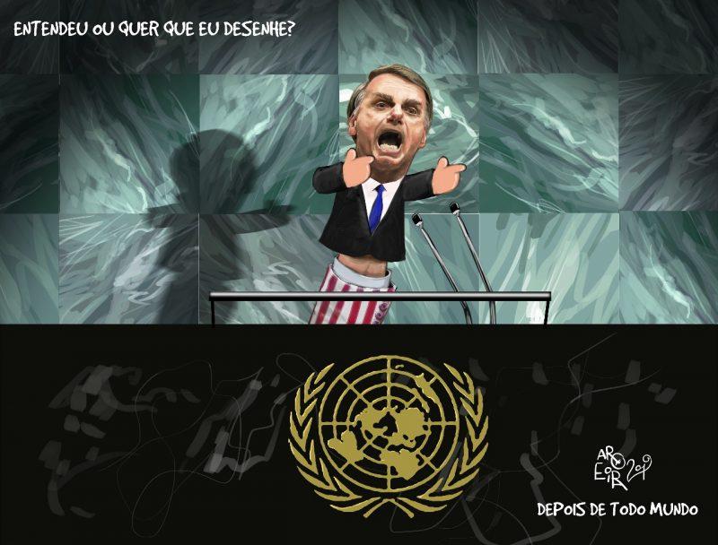 Letícia Sallorenzo: Na ONU, Bolsonaro manipulou o seu ódio, raiva, indignação, rancor; contra e favor dele