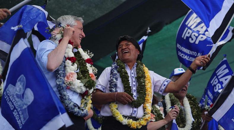 TeleSUR: Evo Morales é reeleito presidente da Bolívia em primeiro turno