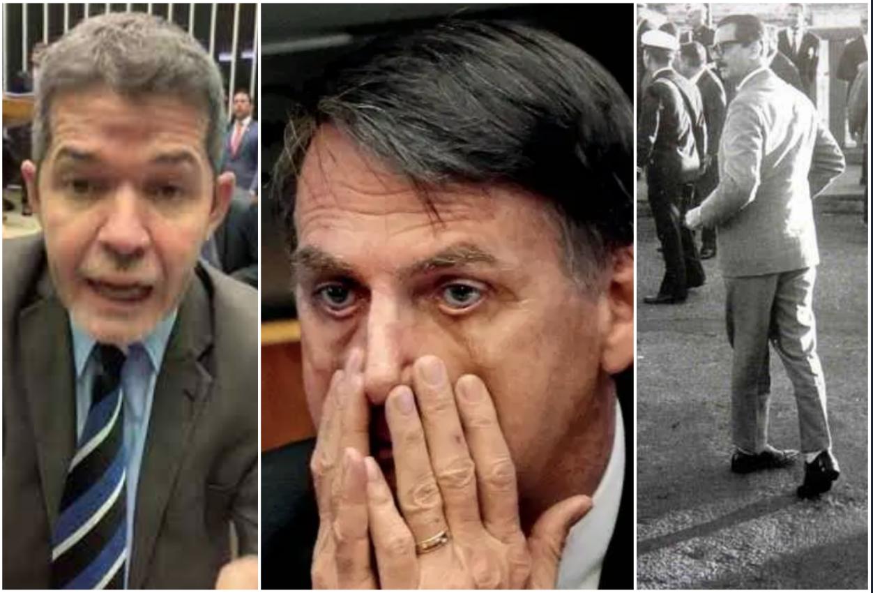 """Delegado, major e raposa acuam o clã Bolsonaro, levando Financial Times a mencionar """"colapso"""""""
