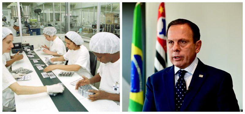"""Farmacêuticos repudiam decisão de Doria de extinguir maior fabricante público de remédios do País: """"Gravíssimo"""""""