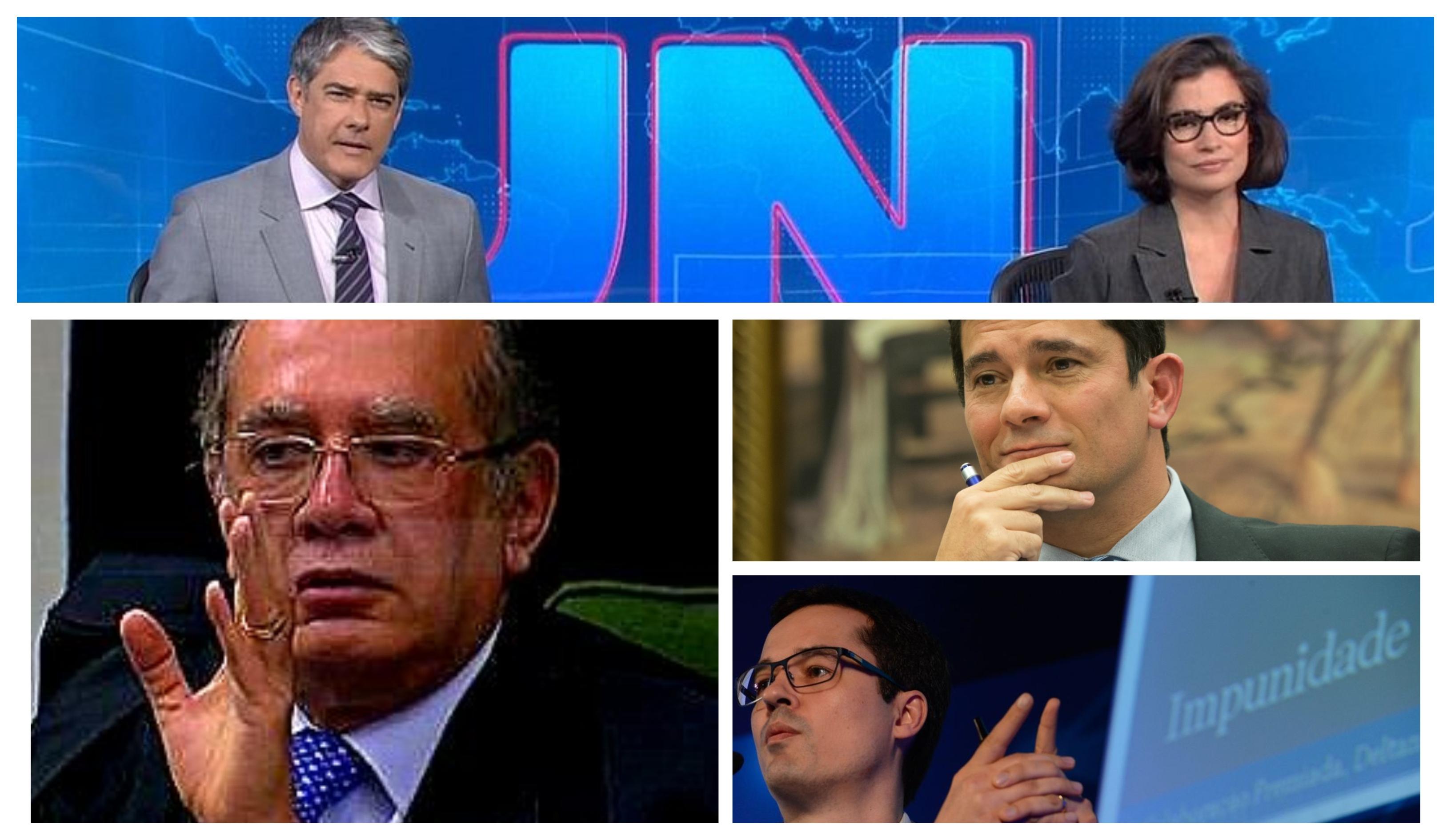 Eliara Santana: Jornal Nacional silencia Gilmar Mendes para defender a Lava Jato