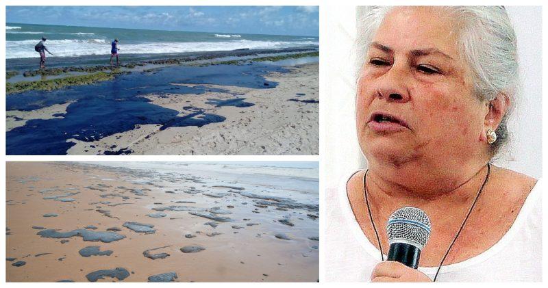 Perita em danos ambientais por vazamento de óleo alerta:Estamos sendo feitos de tolos. Como veem manchas chegarem às praias e não acionam imagens dos satélites?