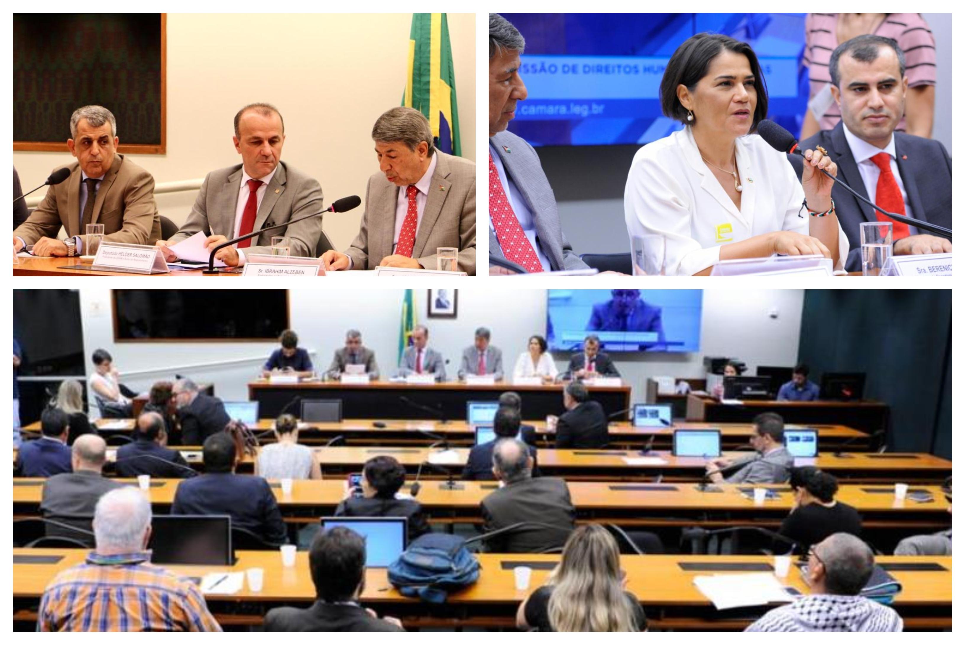 Embaixador da Palestina, na Câmara: Faixa de Gaza é imenso campo de concentração; Israel não respeita as mais de 700 resoluções da ONU; vídeo