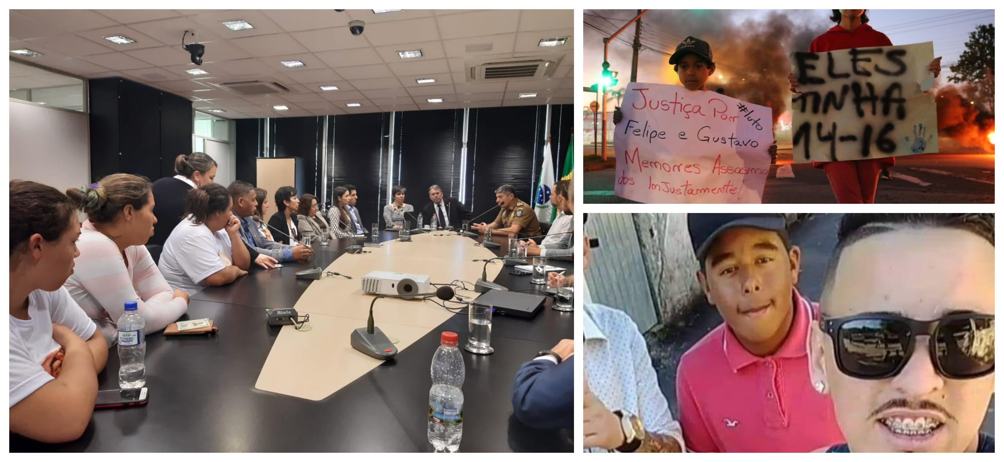 Jovens assassinados pela PM em Curitiba: MP reúne-se com familiares e garante investigação