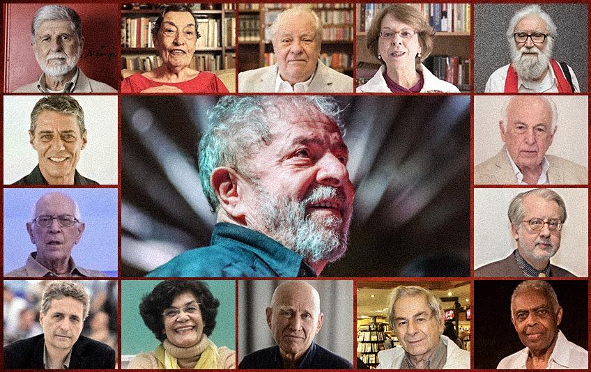 Personalidades brasileiras denunciam a Lava Jato e clamam: Chega! Lula merece justiça e o Brasil precisa de paz
