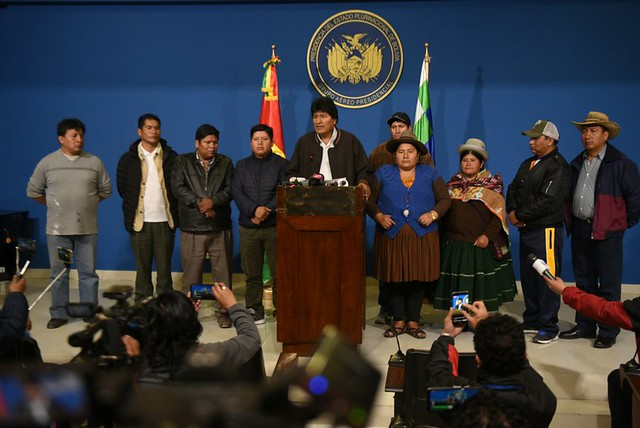 Em nota PT exige respeito aos direitos humanos e à vida de Evo, equipe e bolivianos em luta por democracia