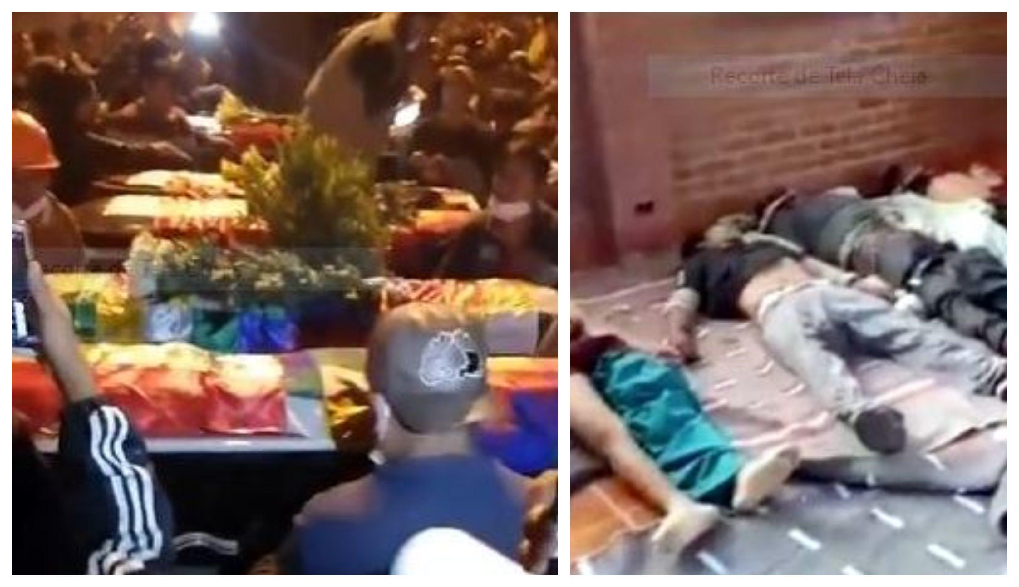 Diário do Golpe: Camponeses indígenas enterram seus mortos pela ditadura boliviana em Sacaba/Cochabamba; vídeos