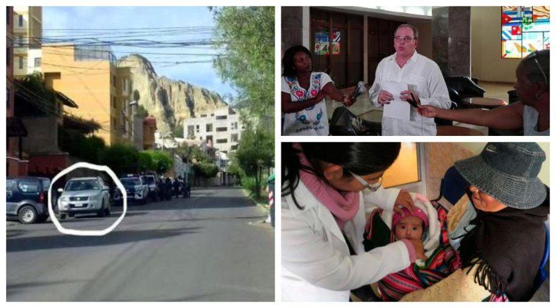 Cuba denuncia carro da embaixada dos EUA em operação da polícia boliviana que prendeu médicos cubanos em La Paz; vídeo