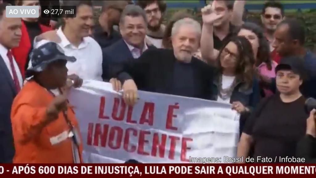Lula Livre!; após 580 dias preso, acaba de deixar a PF; íntegra da decisão histórica