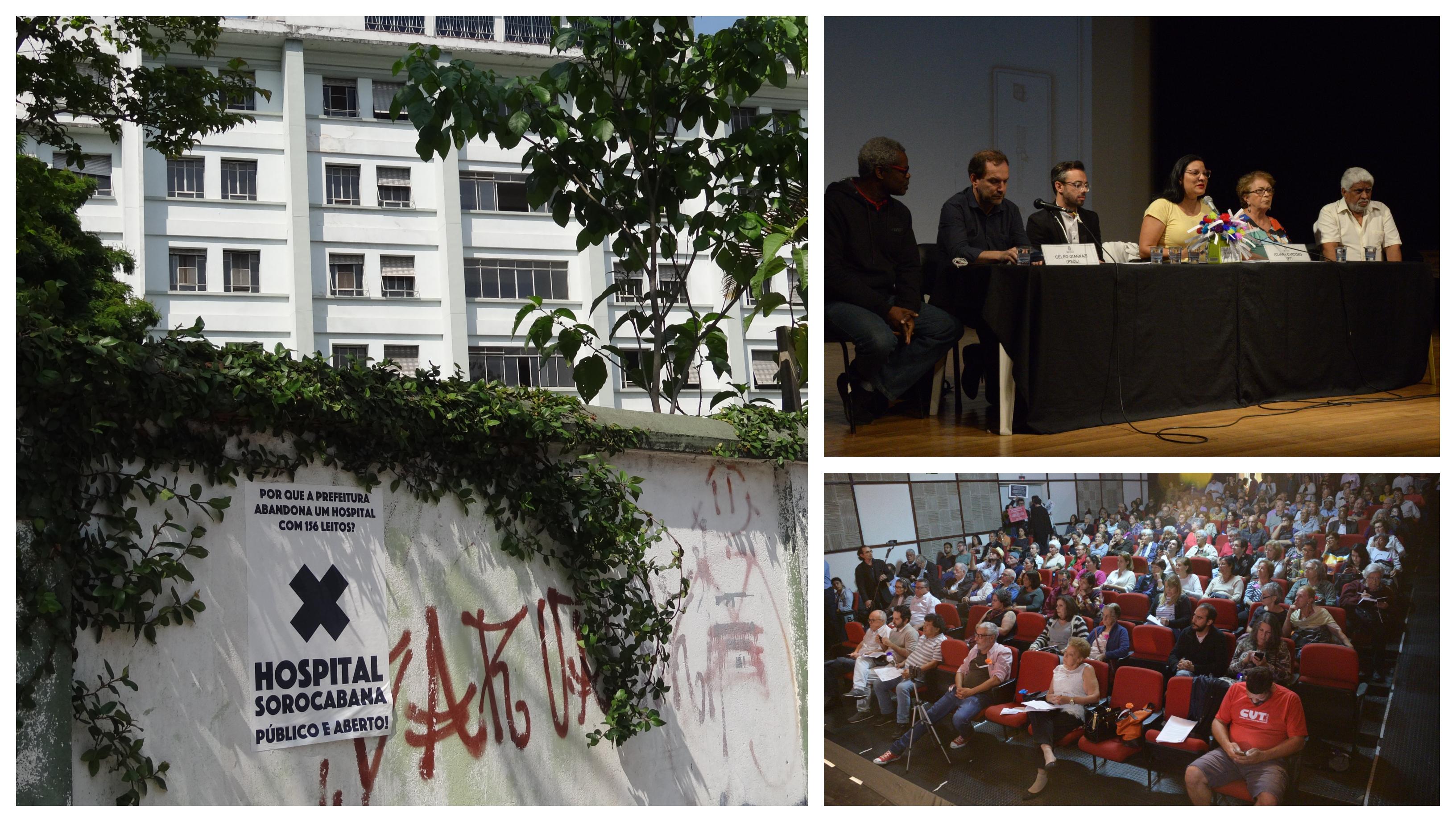 Juliana Cardoso: Por que o Hospital Sorocabana, que fazia 20 mil atendimentos mensais, está abandonado pela Prefeitura de SP?