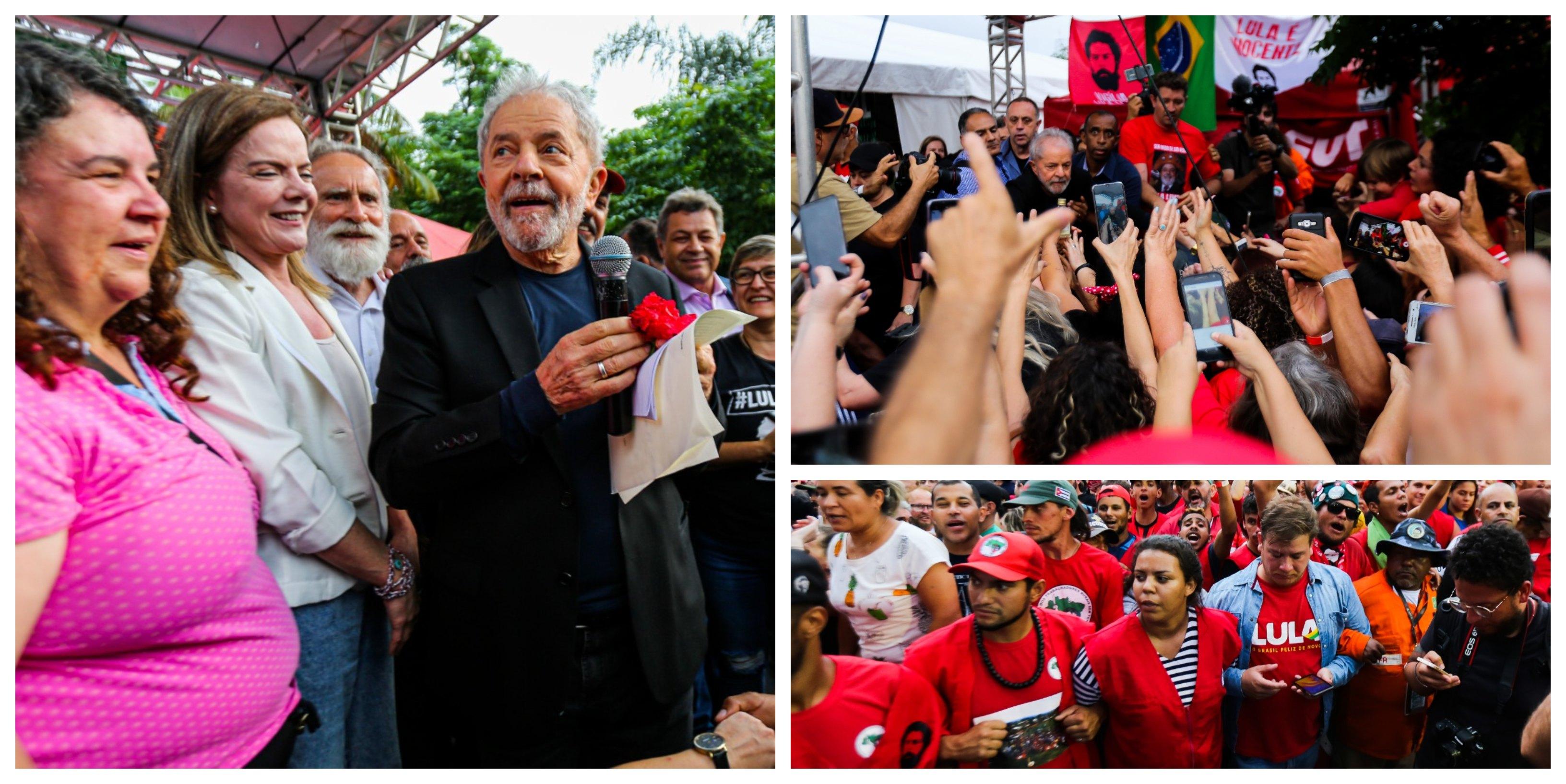 Lula, você encaçapou de uma só vez Bolsonaro, Moro e Globo!