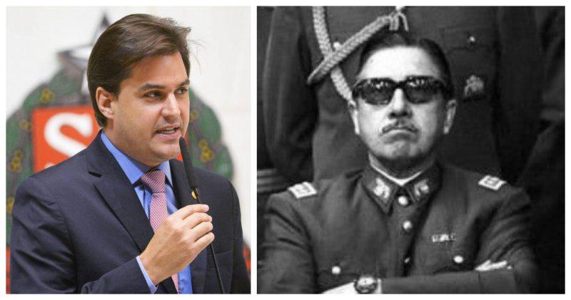Deputado que homenageia Pinochet quer polícia em órgão de Direitos Humanos e ensino militar nas escolas