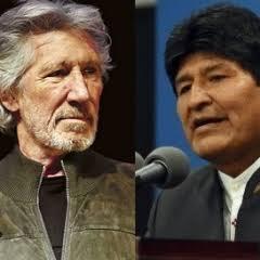 Roger Waters: Evo querido, você levou democracia a todos os cantos da sua terra; estamos com você; vídeo