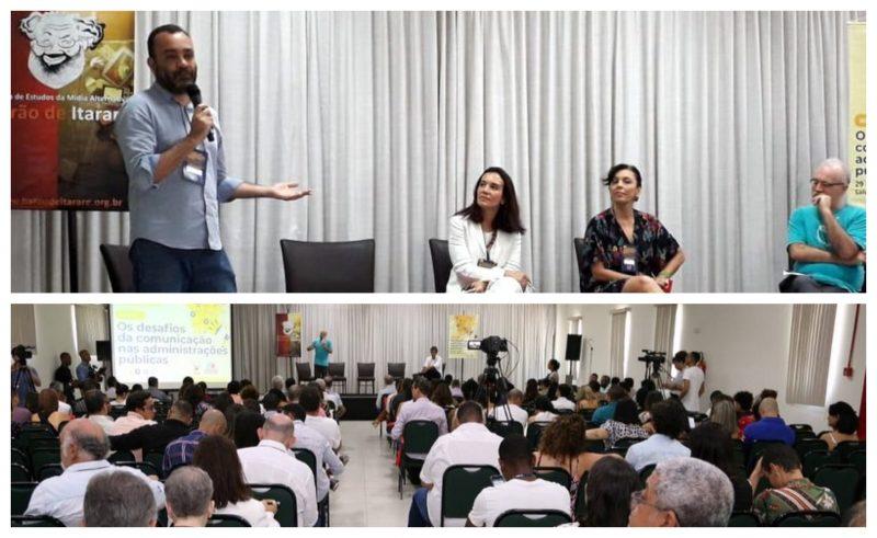 Os desafios da comunicação nas administrações públicas: Veja como foi o painel com Sérgio Lirio, Geórgia Pinheiro e Cynara Menezes