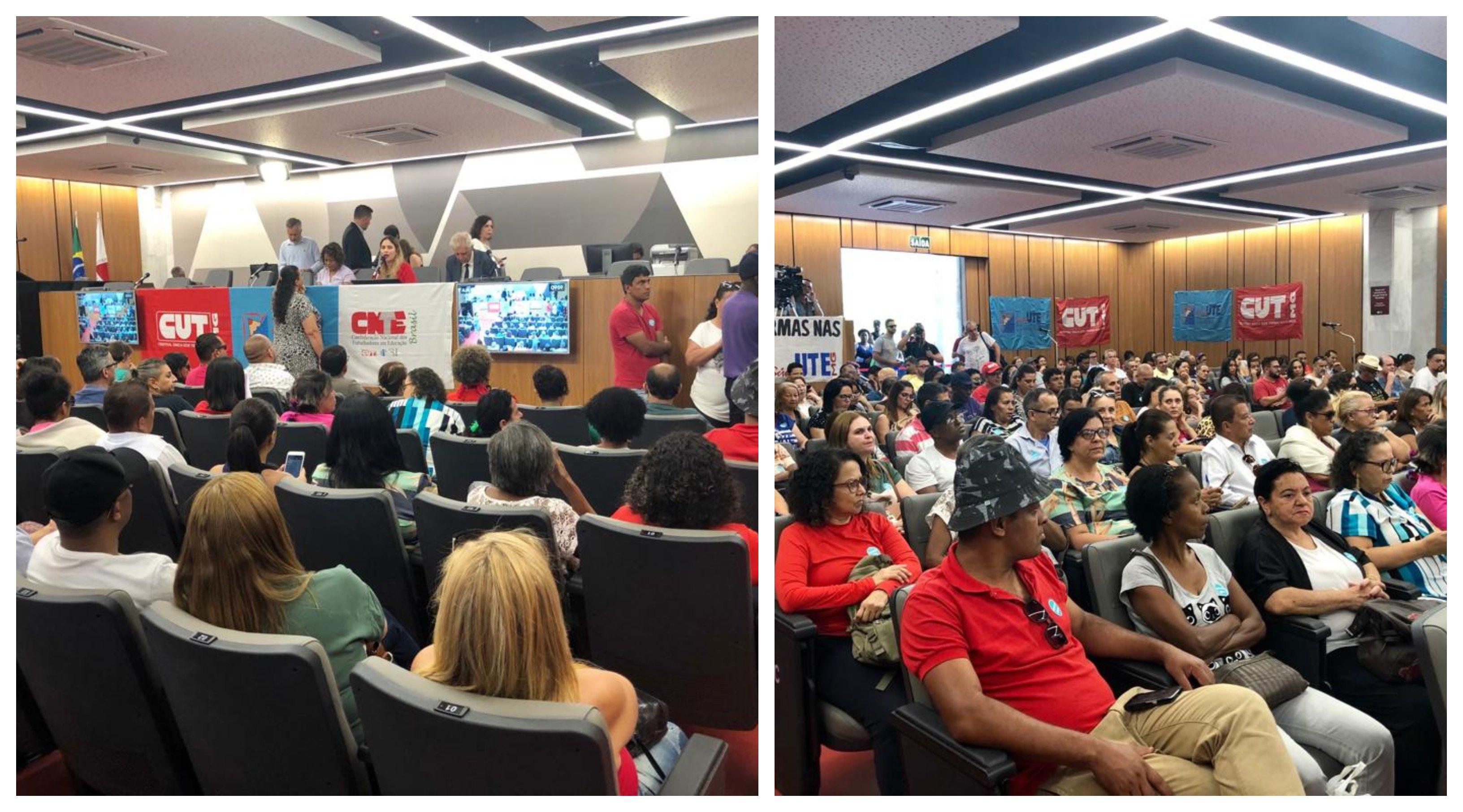 Ao vivo, audiência pública sobre fechamento de escolas, turnos e turmas em Minas
