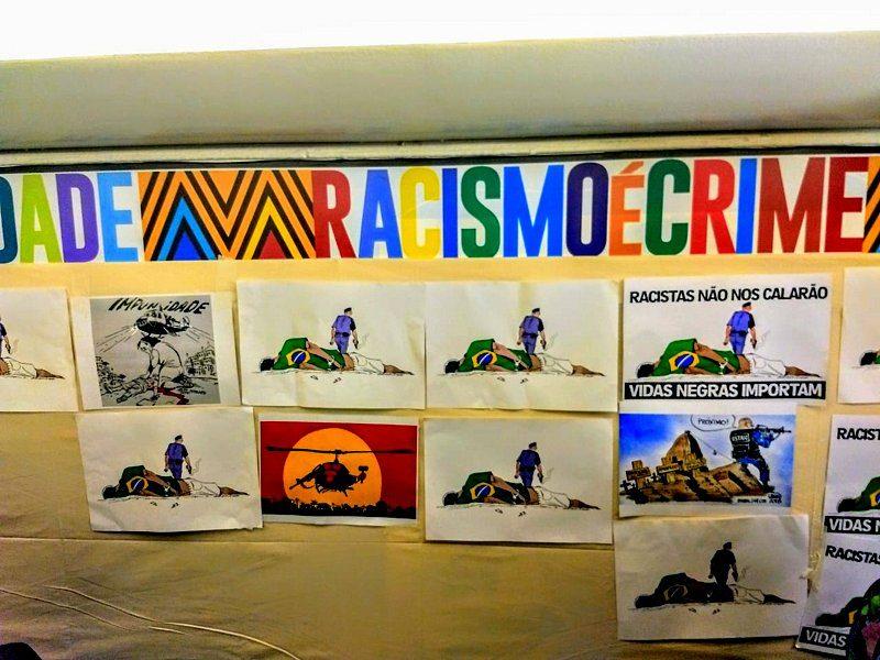 Pimenta: O que na charge do Latuff feriu a sua 'sensibilidade', coronel? Onde doeu?