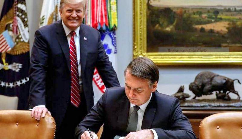 Trump acusa Brasil de desvalorizar real e anuncia sobretaxa das exportações de aço e alumínio. Aprendeu a lição, capitão?