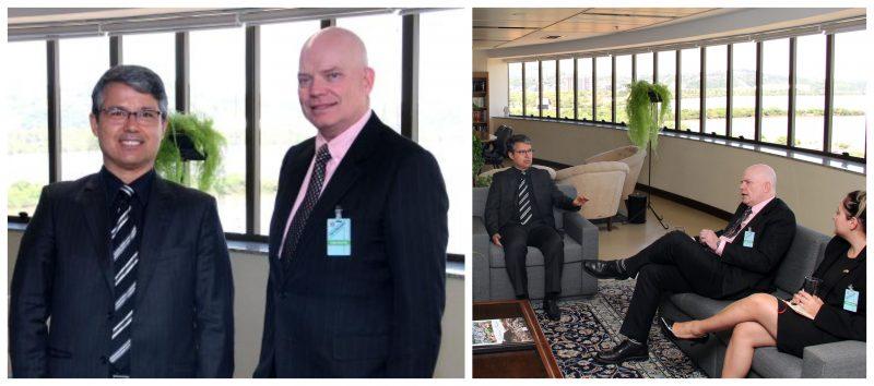 Jeferson Miola: Conselheiro da embaixada dos EUA que se reuniu com TRF4 é agente deinteligência
