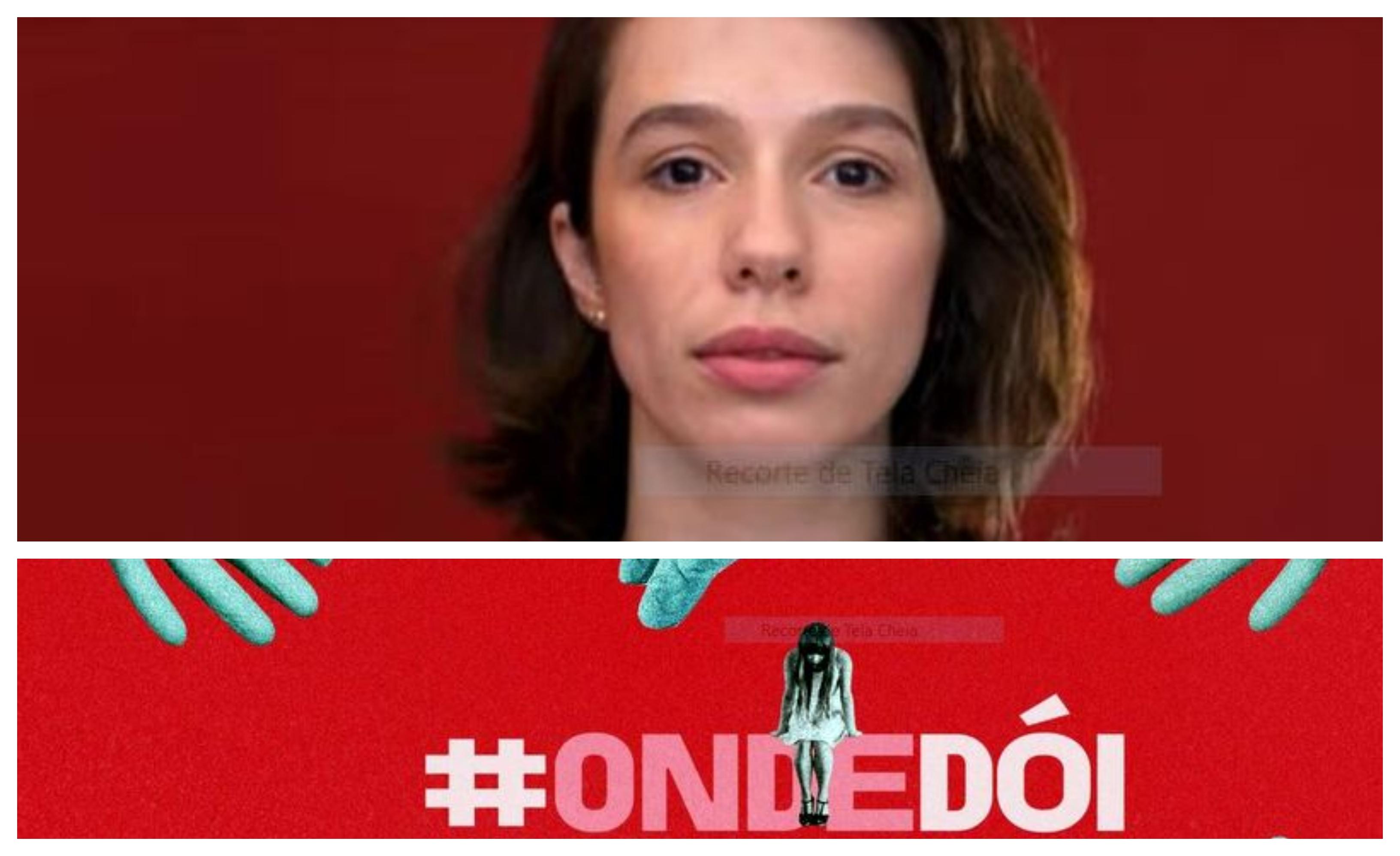 """Campanha alerta para abuso sexual médico: """"Só nós, que passamos por isso, sabemos onde dói""""; vídeo"""