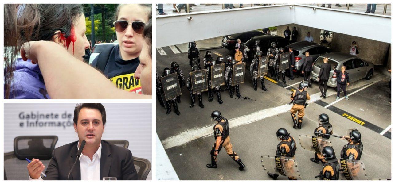 Beatriz Cerqueira: Repudiamos a violência policial do governo do Paraná contra os profissionais da Educação