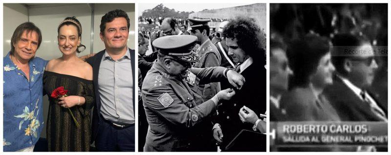 O Rei Roberto Carlos e suas relações com inimigos da democracia; vídeo
