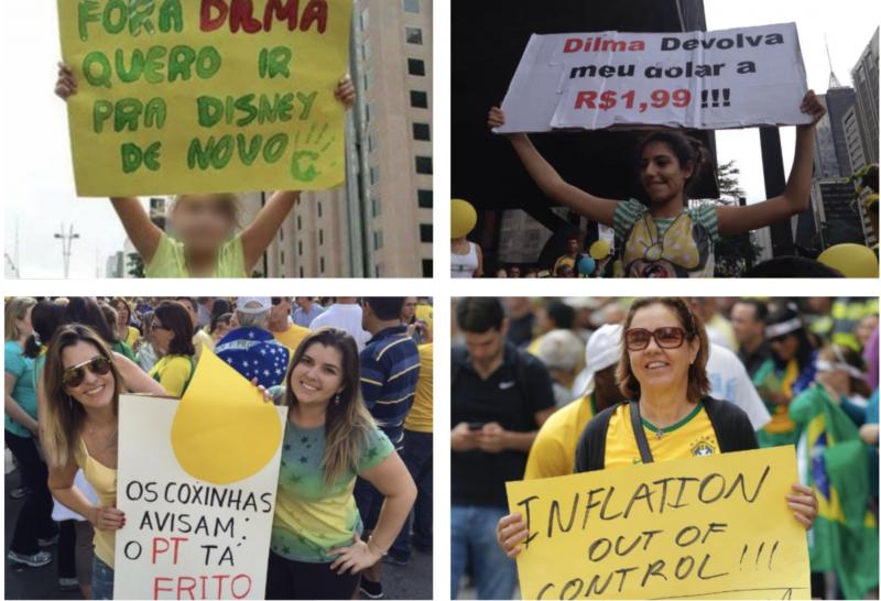 """Carne subiu 32%, gasolina 5% e salário mínimo, abaixo da inflação: """"era só tirar a Dilma"""" foi engana trouxa"""