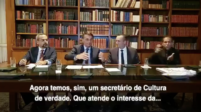 Dr. Rosinha: Roberto Alvim foi demitido. E, daí? O que pouca gente entendeu