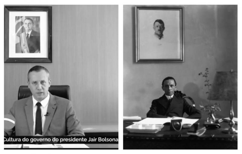 Psol: Alguma dúvida de que Bolsonaro concorda com o discurso nazista de seu secretário?