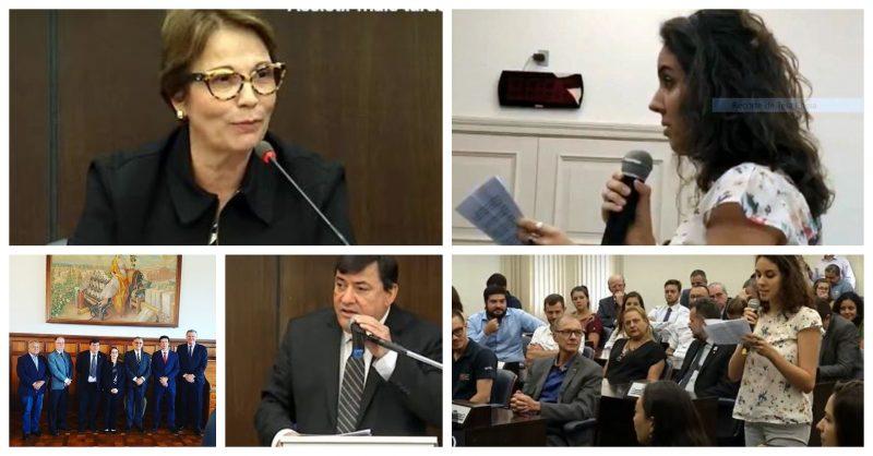 Mensagem de estudantes da Esalq viraliza: carta lida diante de ministra de Bolsonaro repudia agronegócio que envenena o Brasil