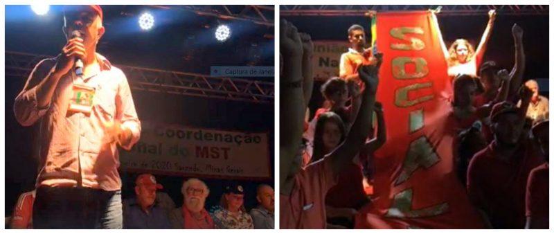 Ex-presidente Lula na abertura do Congresso do MST em Minas; veja como foi