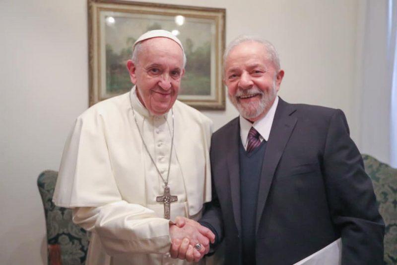 Desigualdade e questão ambiental foram temas do encontro de Lula com o Papa