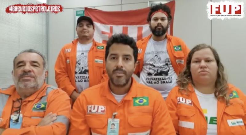 Petroleiros advertem que governo pode usar desabastecimento contra greve na semana que vem