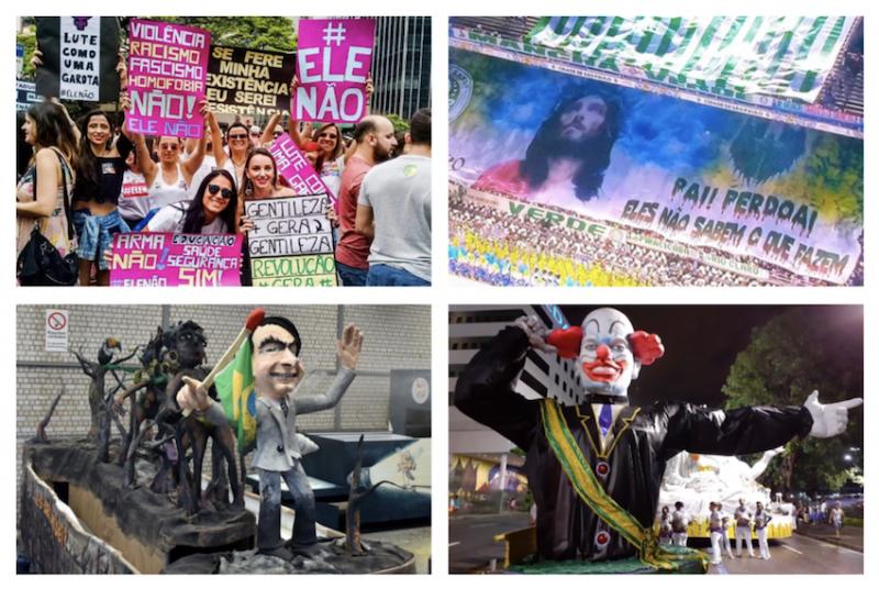 """No Carnaval do repúdio a Bolsonaro, Elza Soares diz que coro contra presidente não leva a nada: """"Tem de ir pra rua""""; vídeos"""