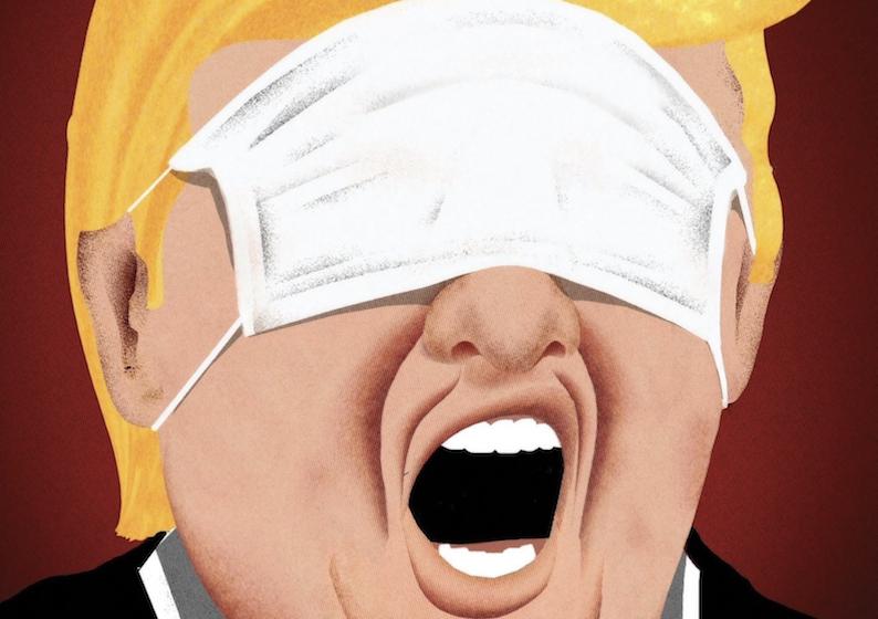 Trump entrega o vírus a Deus e aciona máquina fake para salvar reeleição