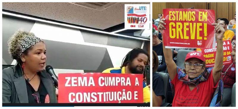 Reajustes salariais: Sind-UTE/MG cobra do governo Zema tratamento igual para todos os servidores; vídeo
