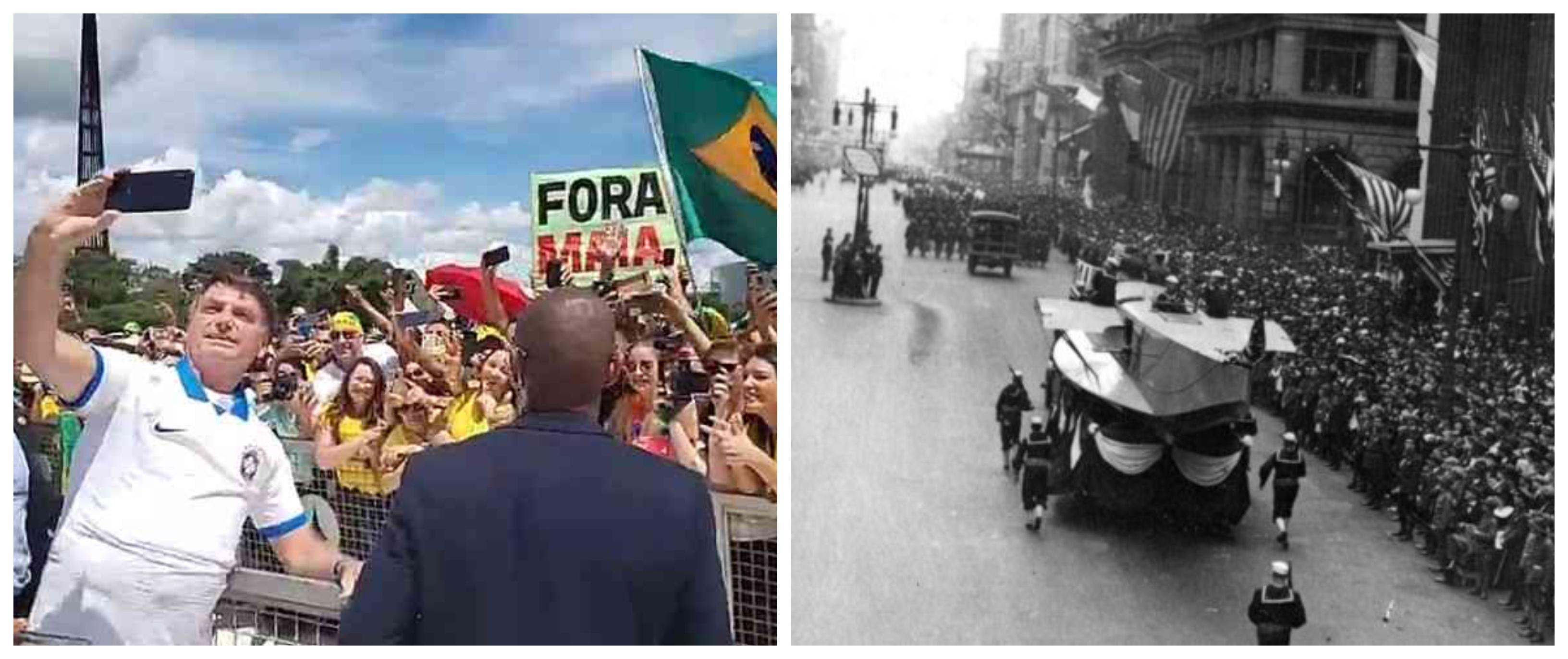 Bolzan: Bolsonaro repete grave erro do governo da Filadélfia, que desdenhou da gripe espanhola, causando milhares de mortes