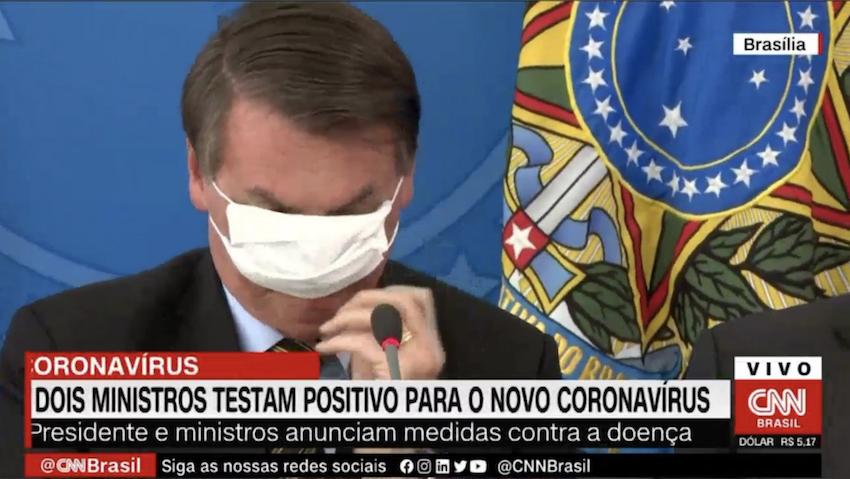 Dr. Rosinha: Máscara cirúrgica de Bolsonaro é só fantasia; vital rasgá-la para expor a verdadeira face