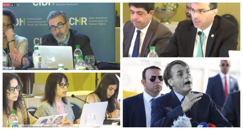 Comissão de Direitos Humanos da OEA condena ataques de Bolsonaro à imprensa; governo foge das perguntas; vídeo
