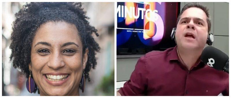 """Blogueiro do RN que difamou a ativista Greta agora calunia Marielle: """"Era miliciana no Rio de Janeiro"""""""