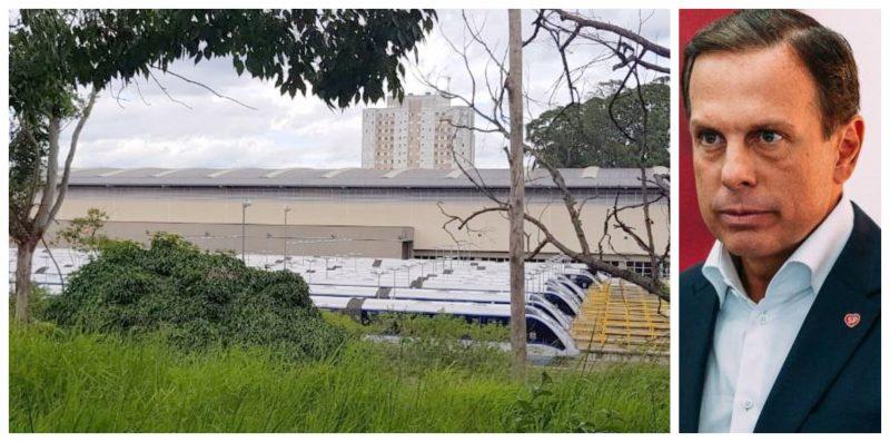Monotrilho pifado há 13 dias; moradores cobram explicação de Doria nesta tarde