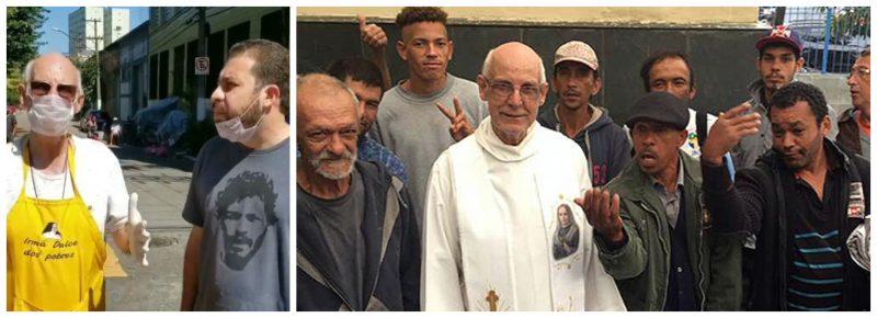 Padre Júlio e Boulos: População de rua precisa de você e do poder público para se proteger do coronavírus; vídeo