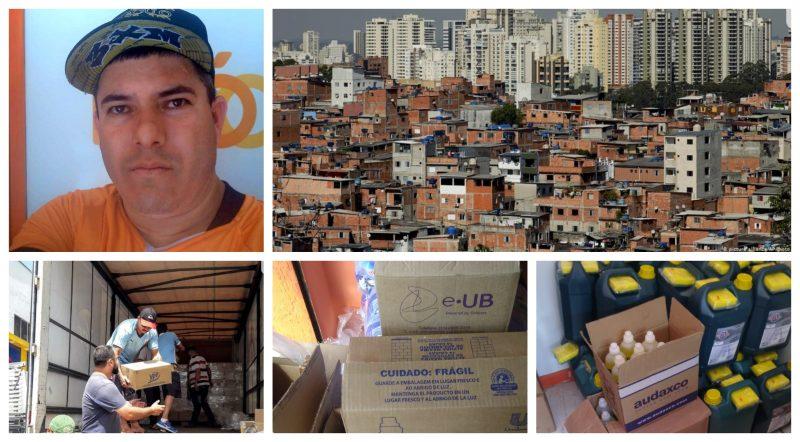 Coronavírus: Paraisópolis faz campanha por alimentos e produtos de higiene para moradores da favela