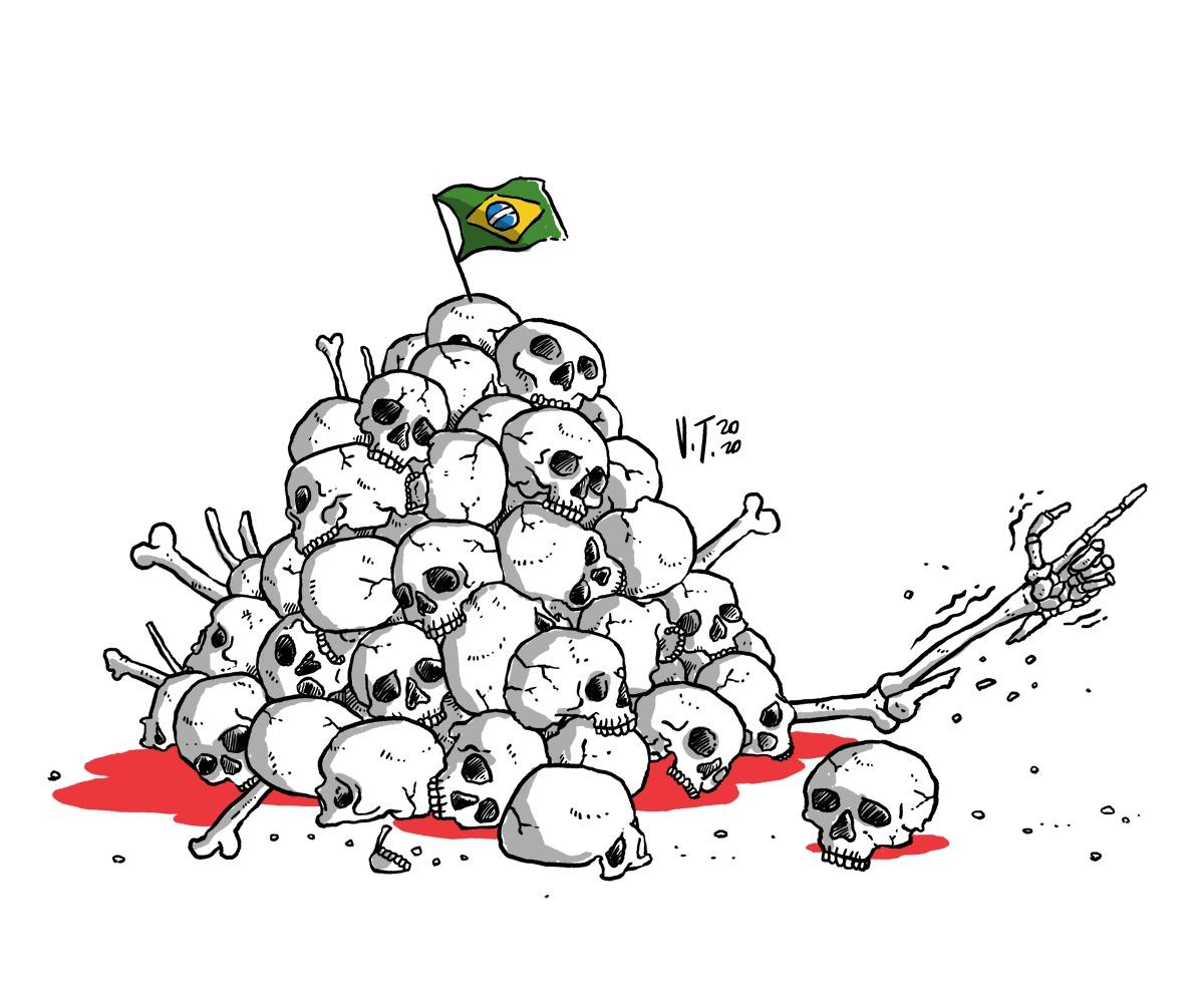 Marcelo Zero: Vermes se alimentam de cadáveres