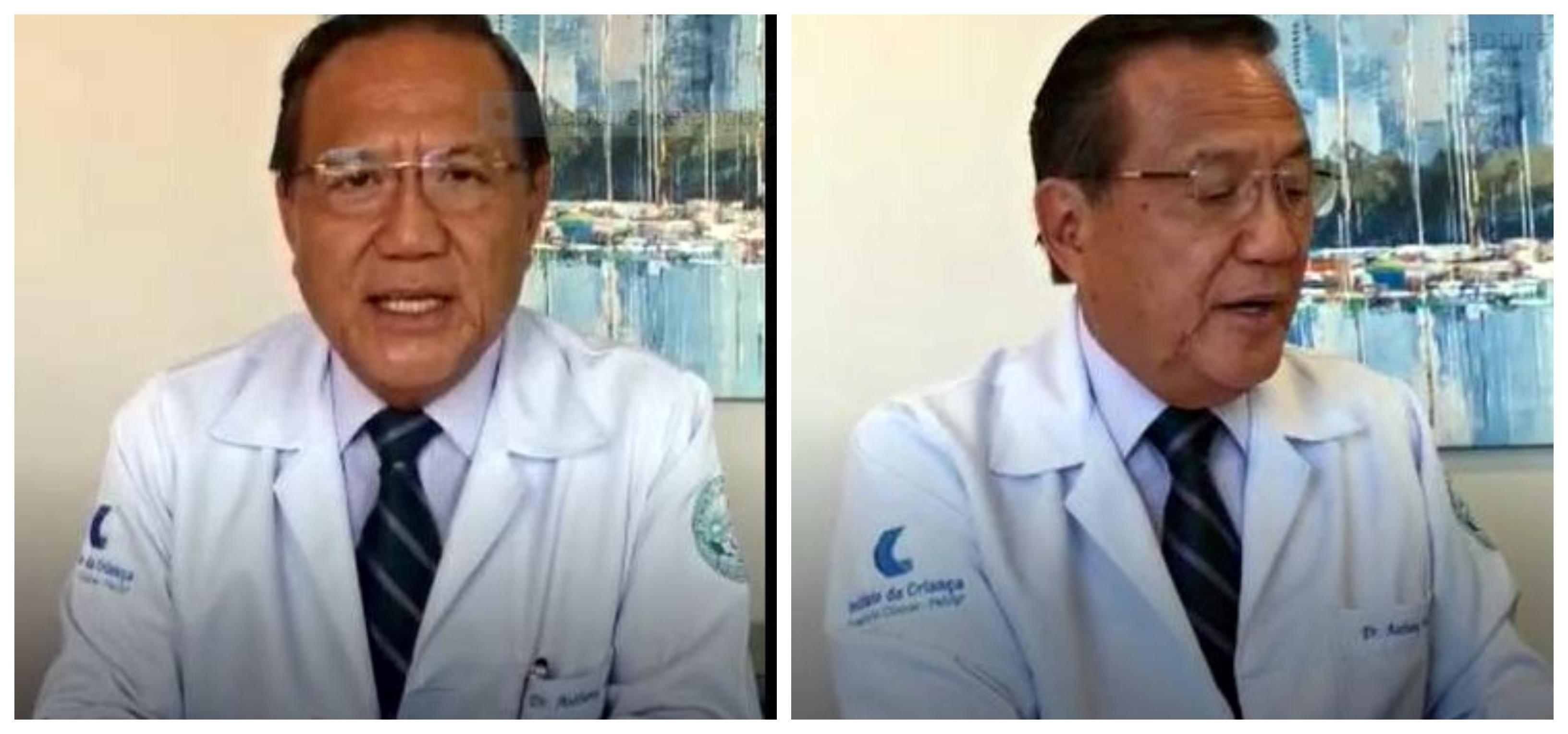 Medicina da USP e Hospital das Clínicas alertam: Opiniões de Anthony Wongsobre Covid-19 não representam posição da instituição; vídeo
