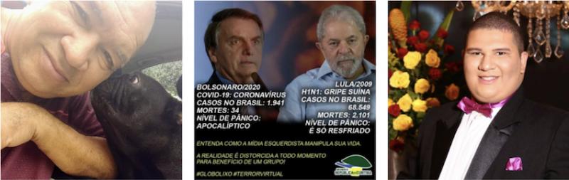 Pai de vítima mais jovem do coronavírus no Brasil disseminou meme que induz ao erro — e o Facebook ainda não sinalizou